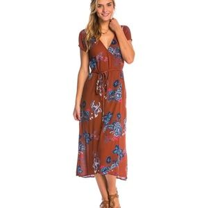 "Billabong 'Wrap Me Up"" maxi dress"